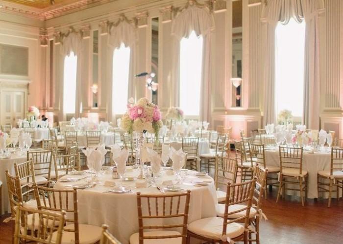 Украшение зала на свадьбу площадка в стиле барокко