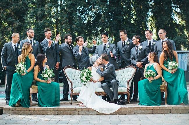Альтернатива банкету: свадебный фуршет