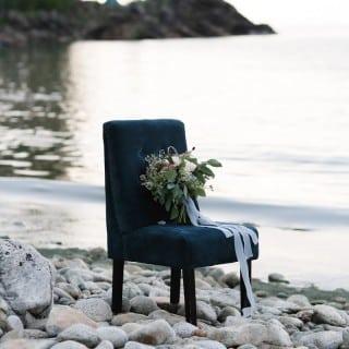 шикарная морская свадьба букет