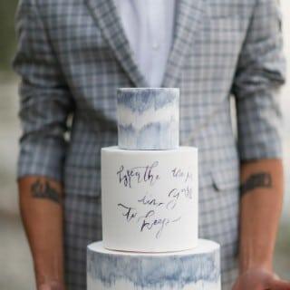 шикарная морская свадьба торт