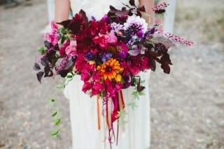 букет невесты осень