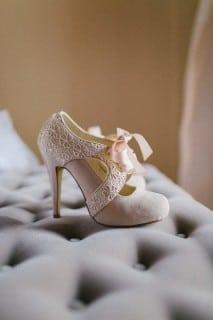 обувь для осенней невесты ботильоны