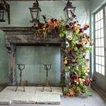 декор свадьбы осенью
