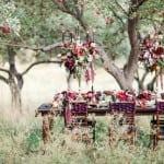 шикарный декор свадьбы осенью