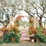 декор свадьбы осенью шикарная церемония