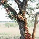 декор свадьбы осенью церемония