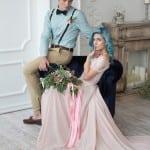 свадьба в стиле Алисы в стране чудес