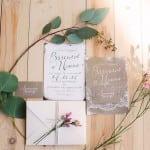 приглашения на свадьбу нежность