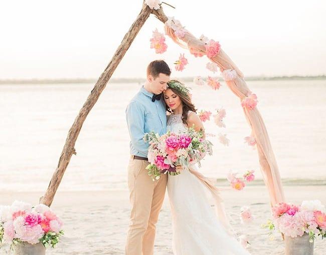 пляжная свадьба