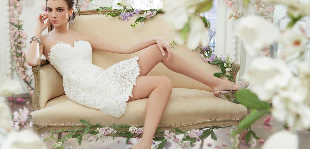 Eightree 2020 Bohe Короткие свадебные платья Русалка съемный шлейф ... | 509x1060
