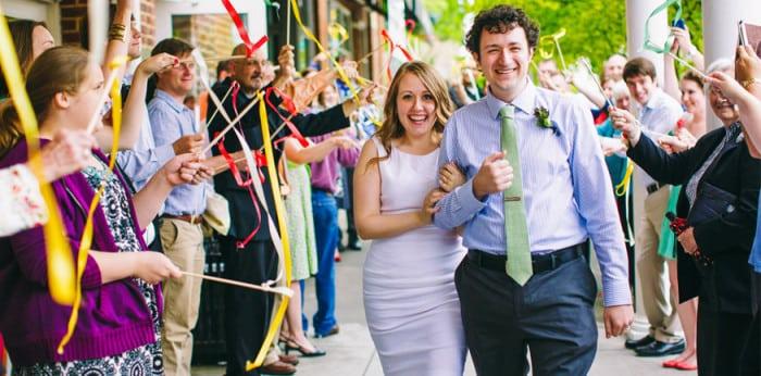 свадьба своими руками встреча молодоженов