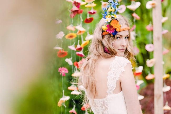 Свадьба своими руками: гирлянды из цветов