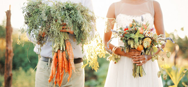 Тренд: овощная свадьба